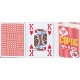 Poker karty Copag 4 rohy Red