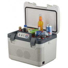 Chladící box DOUBLE 19 l + display - 230V/24V/12V