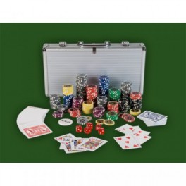 Poker set 300ks žetonů 25-1000 design Ultimate