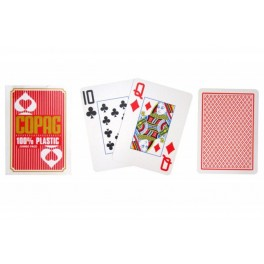 Poker karty Copag Jumbo index - Red