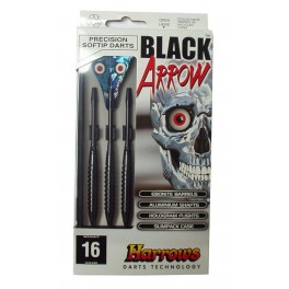 Šipky SOFT BLACK ARROW 14g